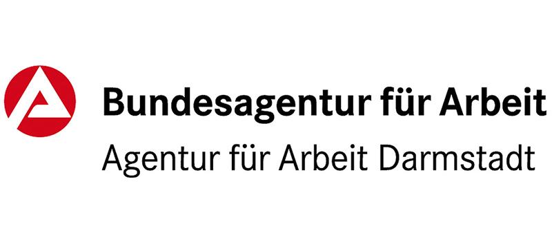 Logo Bundesagentur für Arbeit Darmstadt